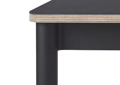 Tafelblad rond| diameter 150 cm | meubellinoleum | 21 mm berken multiplex