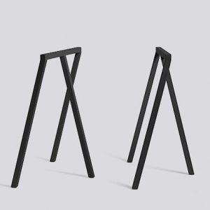 Hay Loop Stand zwart met tafelblad op maat