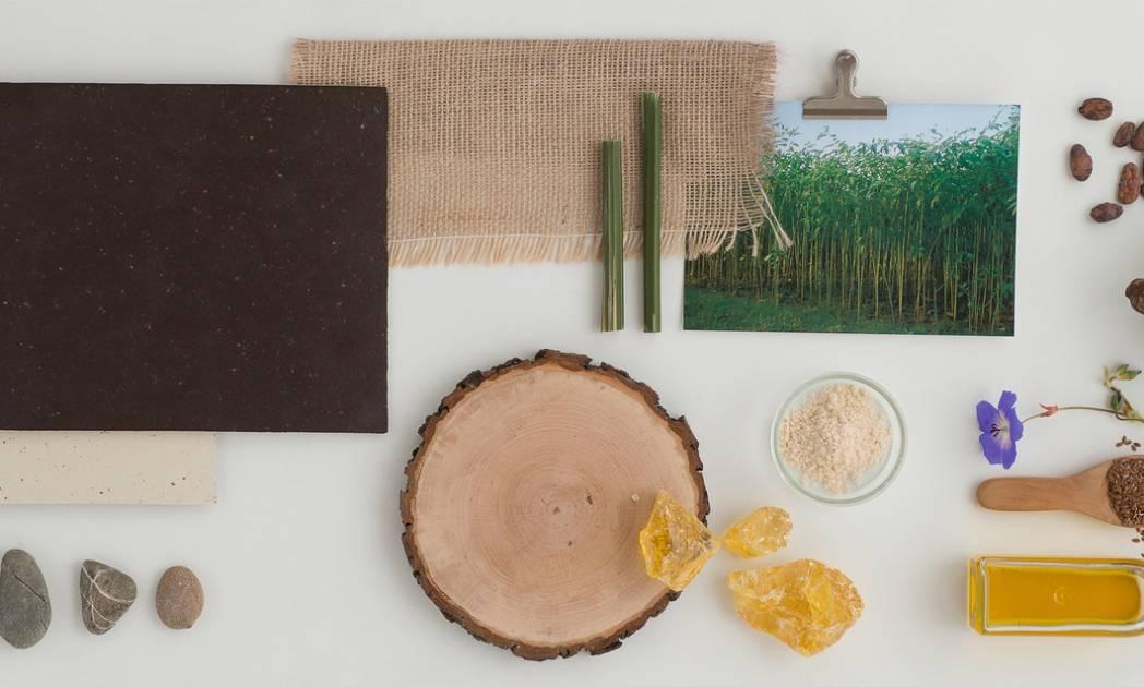 linoleum grondstoffen